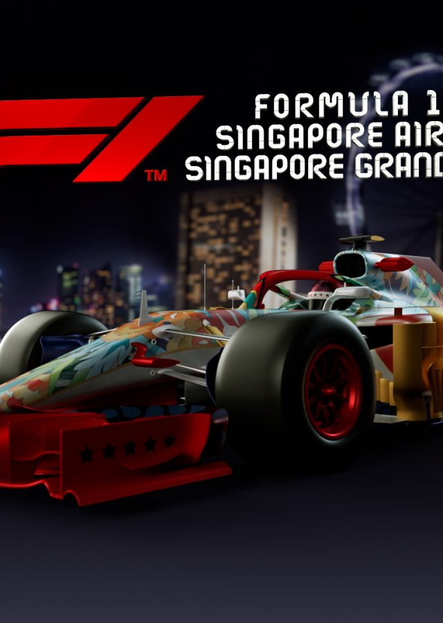 AUSTRALIAN F1 and SINGAPORE F1 Live On-Track Broadcast - ZSpace