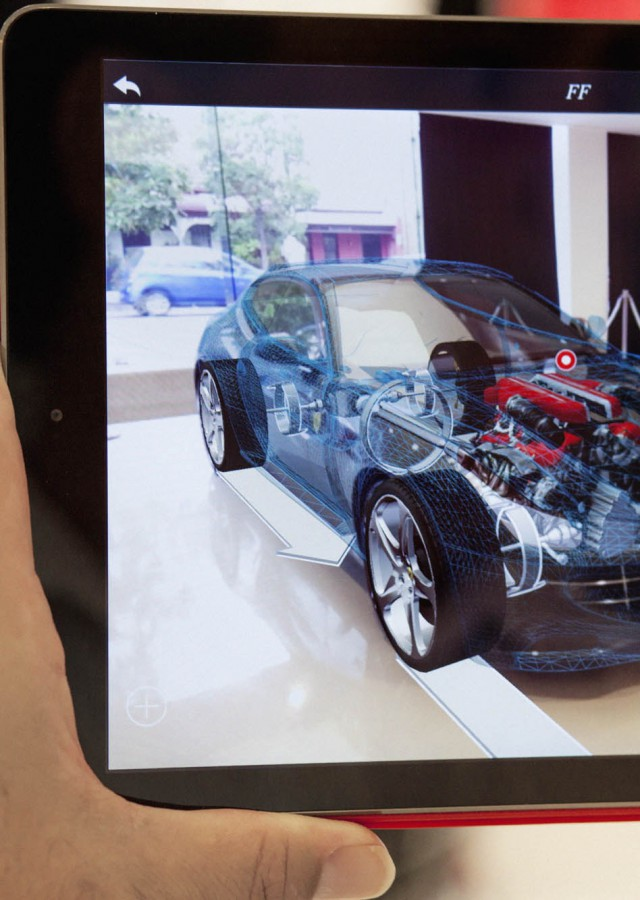 Ferrari AR Showroom App